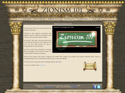 Zionism 101 website